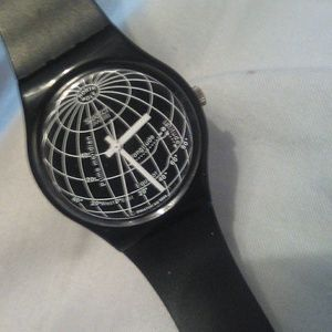 Swatch watch globe earth GB164